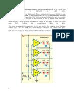 Measurement Ov Vtg Using Opamp and Led