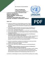 United Kingdom announces new humanitarian assistance for Somalia