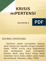 Gadar - Seminar Krisis Hipertensi - Kel. 6 - s1-4a