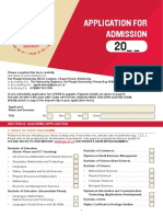 SPU Application Form 2018
