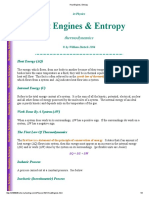 Heat Engines, Entropy