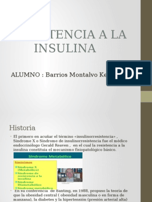 fisiopatología de la diabetes mellitus powerpoint conferencias