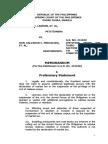 Lagman group's martial law memorandum to Supreme Court