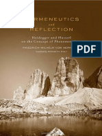 Cópia de F. Von Herrmann-Hermeneutics and Reflection_ Heidegger and Husserl on the Concept of Phenomenology