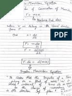 Impulse Momentum Theorem and Its Application