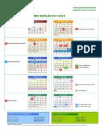 Calendario Escolar Córdoba 17-18