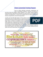 BitCoin BlockChain Customized Training Program