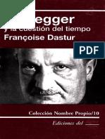 Cópia de F. Dastur. Heidegger Y La Cuestion Del Tiempo.pdf