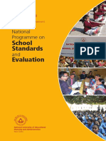 National Programme on School Standards and Evaluation_NEUPA_2015