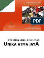 lppm-BukuPedomanUmumPenelitianUAJ_Pengumuman