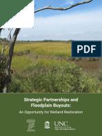Strategic Partnerships and Floodplain Buyouts