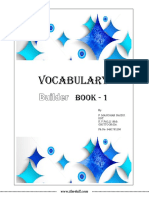 Vocabulary Builder Book-1