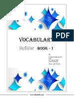 Vocabulary Builder Book-1