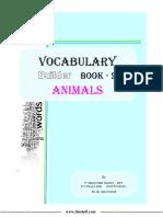Vocabulary Builder Book-2 (Animals)