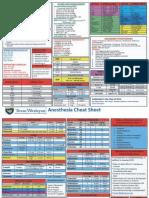 TWU Anesthesia Cheat Sheet