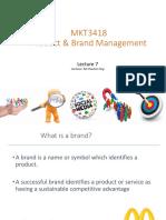 MKT3418 Lecture 7 Plain