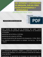 IGNIMBRITAS DEL NEOGENO Y CUATERNARIO DEL AREA DE AREQUIPA