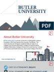 Study Abroad at Butler University, Admission Requirements, Courses, Fees