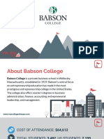 Study Abroad at Babson College, Admission Requirements, Courses, Fees