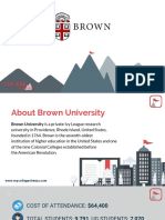 Study Abroad at Brown University, Admission Requirements, Courses, Fees