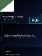 Knowledge & Inquiry