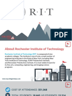 Study Abroad at Rochester Institute of Technology, Admission Requirements, Courses, Fees