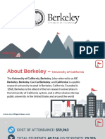 Study Abroad at University of California Berkley, Admission Requirements, Courses, Fees