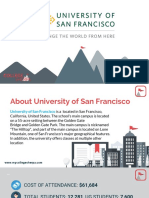 Study Abroad at University of San Francisco, Admission Requirements, Courses, Fees
