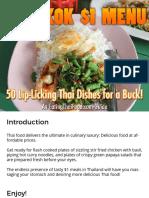 Bangkok Dollar Menu Oct 2015