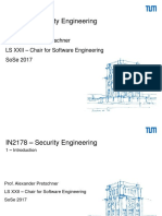 Chapter 1 Security Engineering TUM