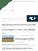 Estados Unidos prevé hacer negocio con la sequía española al impulsarse las importaciones de cereal - Agroinformacion