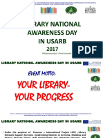 Library national awareness day in USARB