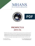 Prospectus 201516
