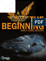 Elite Dangerous.the Beginning. Early Game Designs. 2014
