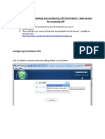 Forticlient VPN Config Document AD Users for New Software Version