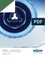Rohm Drill Chucks Catalogue 2015-16