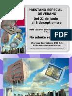 2017 PRÉSTAMO DE VERANO en el CRAI Antonio de Ulloa