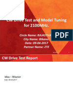 example Model Tuning Report_2100Mhz.ppt
