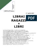Librai Ragazzi e Libri Aprile 2017