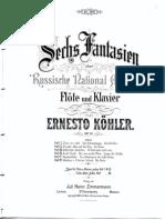 Ernesto Kohler Op 61 Laengs Der Strasse