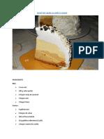 Desert Tort Cupola Cu Vanilie Si Caramel