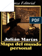 Mapa Del Mundo Personal - Julian Marias