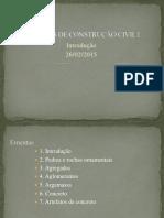 MCC I Civil Introducao Normalização 11-8-2014
