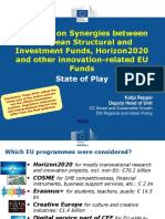 Katja REPPEL- DG Regio - Synergies H2020& ESIF