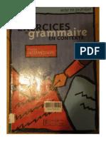 Exercices de grammaire niveau intermediaire