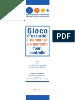 Dossier Gioco Dazzardo CNCA