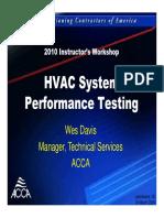 AIR CONDITIONER Measuring System Capacity