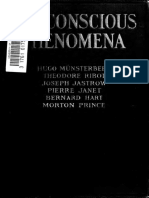 Subconscious Phenomena. Munsterberg - Ribot - Janet