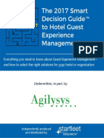 The 2017 Smart Decision Guide to Hotel Guest Experience Management - April 2017