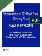 37th Road Plaza Presentation Final